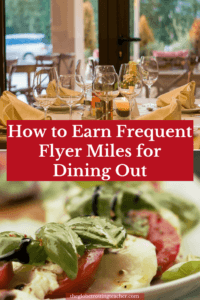 Earning With Dining Programs