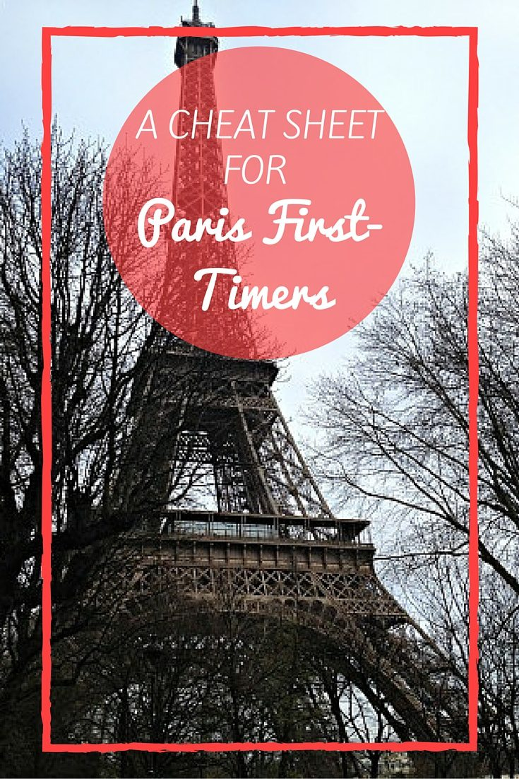 Travel Paris | If you're planning a trip to Paris, this cheat sheet has all your travel Paris basics + a Free downloadable cheat sheet to take on the go. #Paris #France #travel #Europe #bucketlist #europetravels #europeantravel #parisjetaime