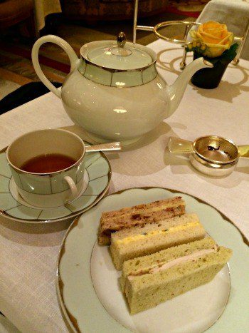 Afternoon tea at the Dorchester