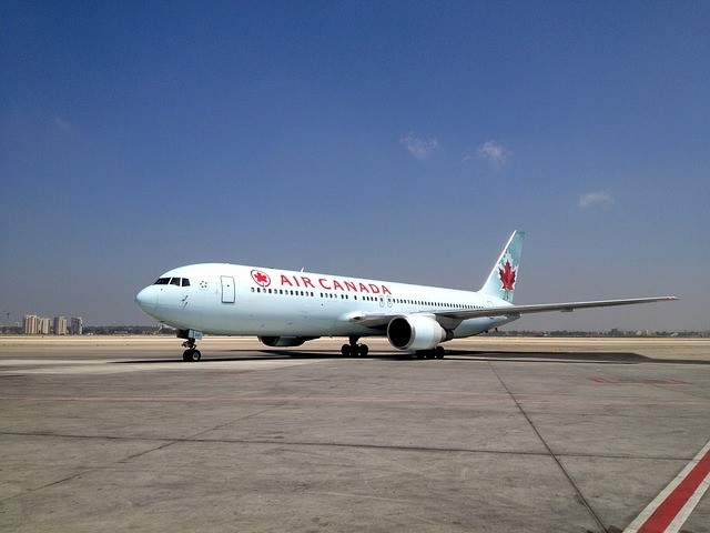 AIr Canada Airplane Stock