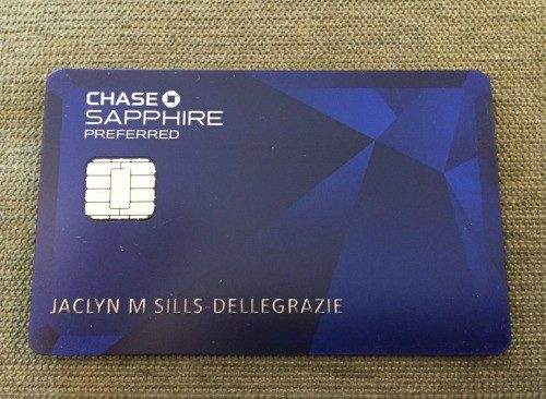chase sapphire preferred miles and points