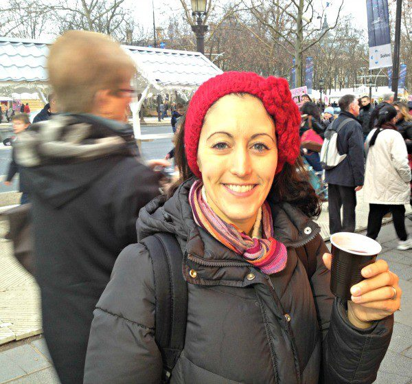 A cup of vin chaud (warm spiced wine), as you stroll through Paris' Christmas markets, takes away the chill!