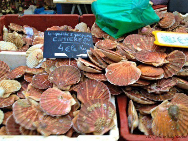 Scallops are a local specialty. If scallops are in season when you visit, make sure to try some.