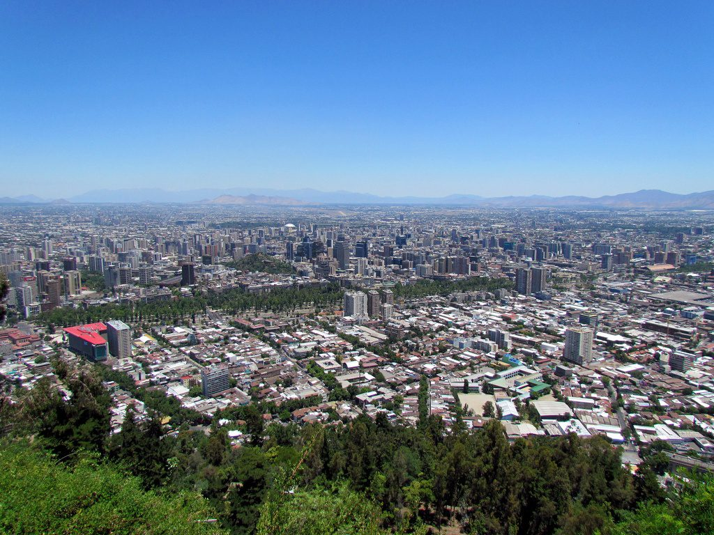 cerro san cristobal photo