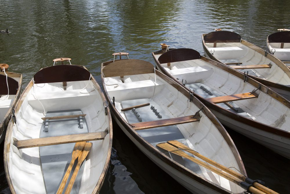 Rowing Boat on River, Stratford Upon Avon
