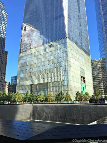 Freedom Tower & North Reflecting Pool
