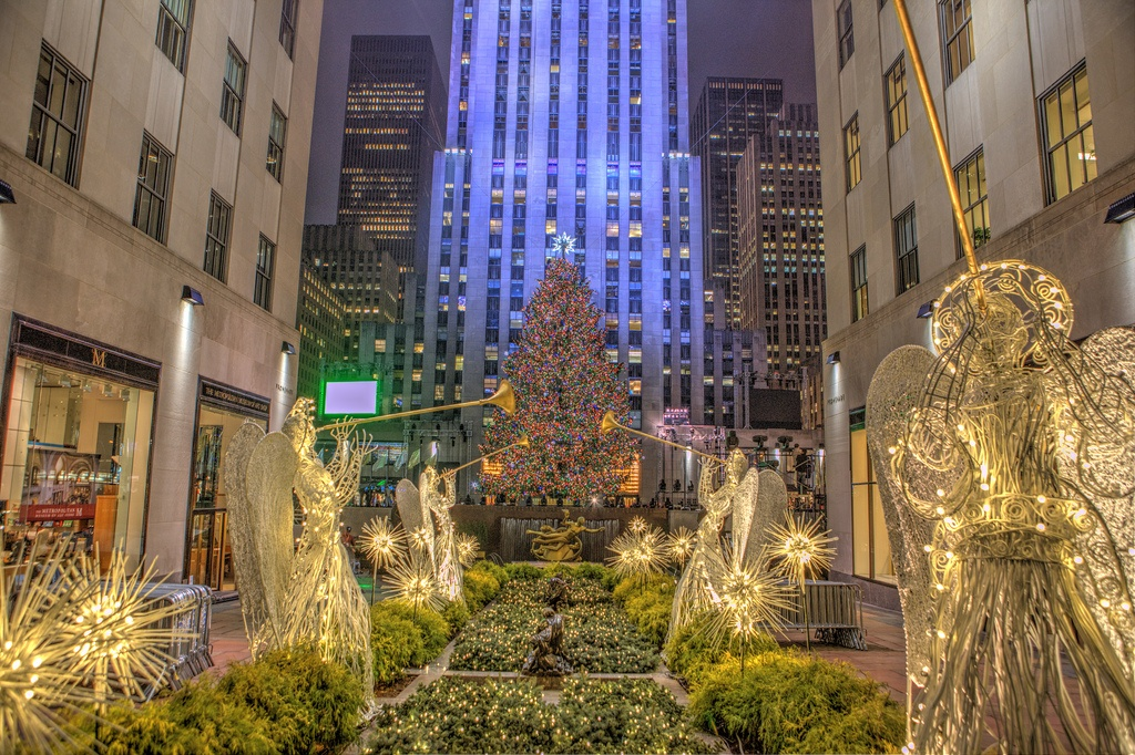 new york city christmas photo