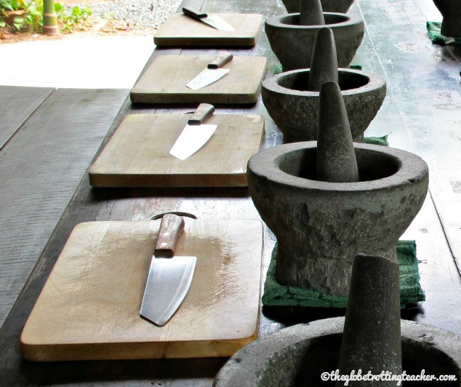 Thai Cooking Mortar and Pestle