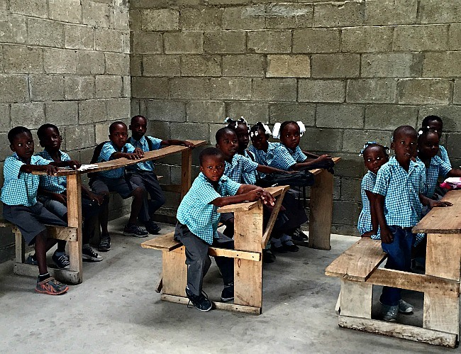 Typical Haitian School