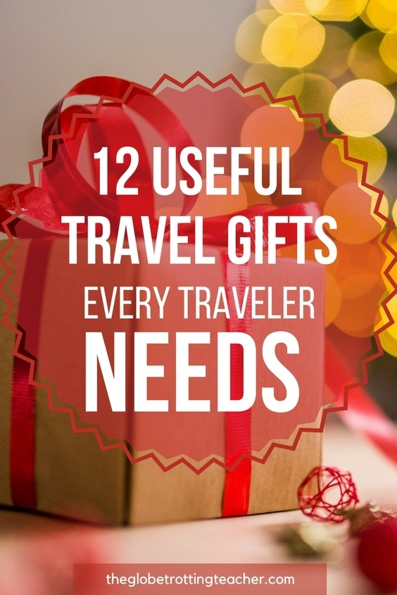 12 Useful Travel Gifts Every Traveler Needs
