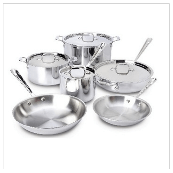 united-merchandise-all-clad-cooking-set