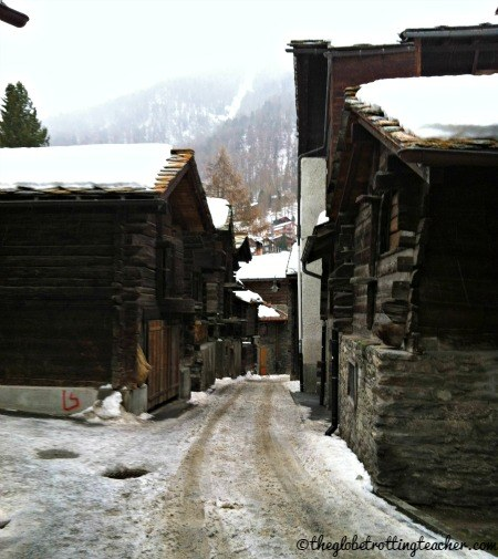 Zermatt Switzerland Timber Houses
