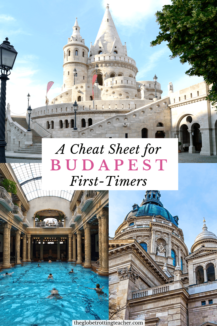 A Cheat Sheet for Budapest First-Timers Pinterest Pin