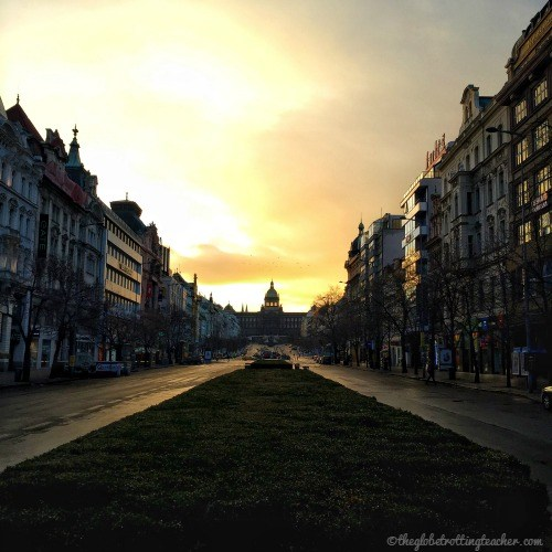Prague Wenceslas Square