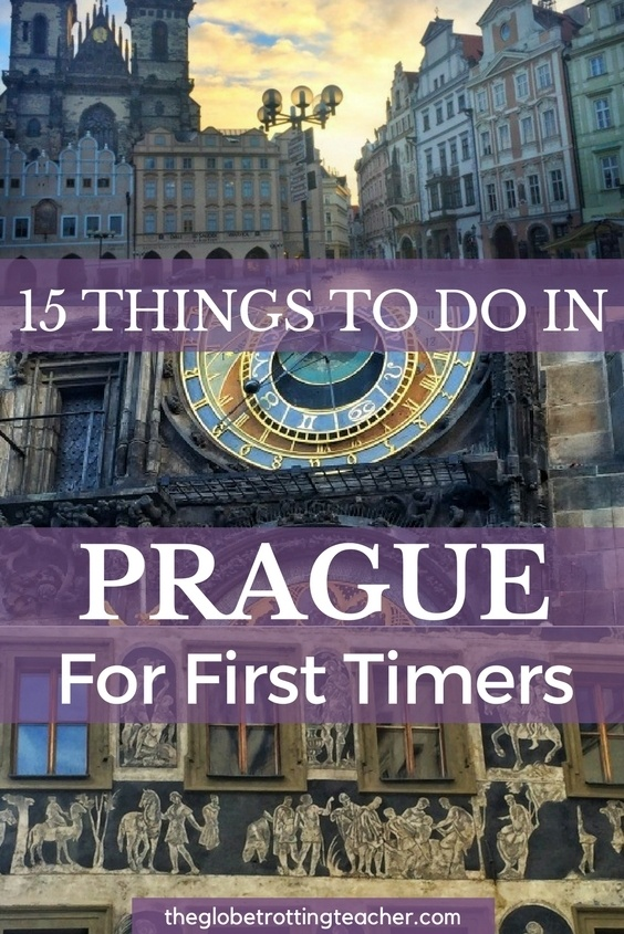 Planning to travel to Prague? Here are 15 Things to Do in Prague For First-Timers + a FREE Cheat Sheet to take with you on your Prague trip!   #Prague #CzechRepublic #Travel #bucketlist #wanderlust #EasternEurope #europe #europetravel #europeantravels
