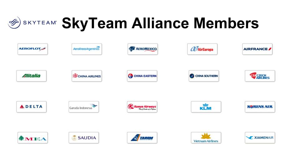 Airline Alliances-SkyTeam
