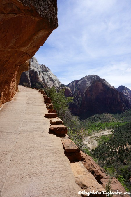 Angels landing Zion National Park