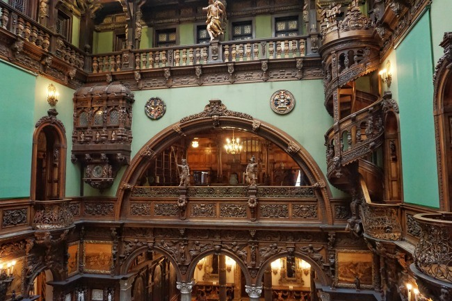 Inside Peles Castle Romania