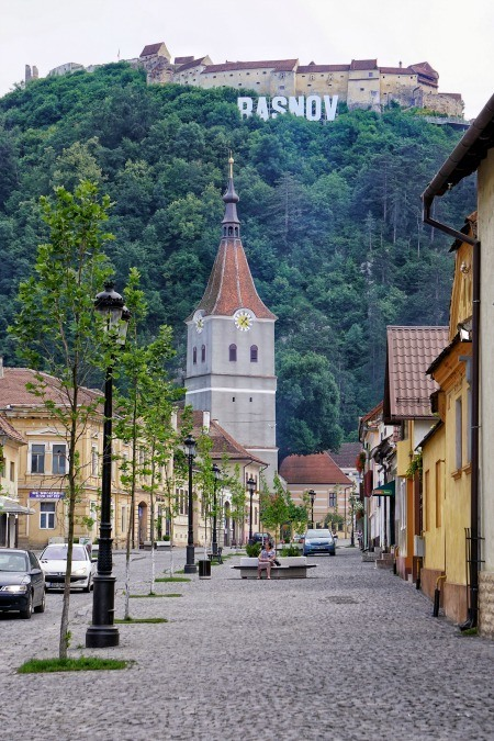 Rasnov City Romania