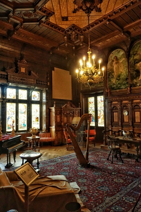 Sinaia Peles Castle Music Room