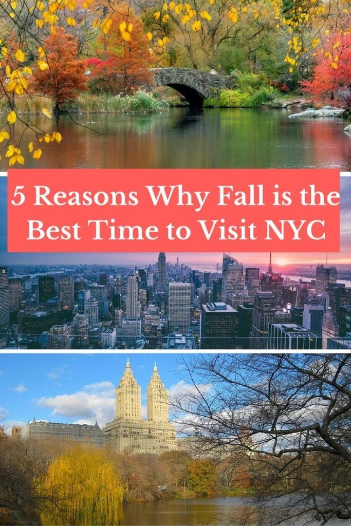 5 Reasons Why Fall is the Best Time to Visit NYC
