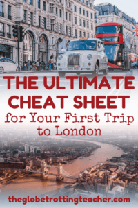 Planning to Travel to London? This is a complete London Guide with itinerary ideas and tips, things to do, hotel suggestions, and more + Get a FREE London Cheat Sheet to take with you on your trip! | #London #UK #Travel #Bucketlist #Europe