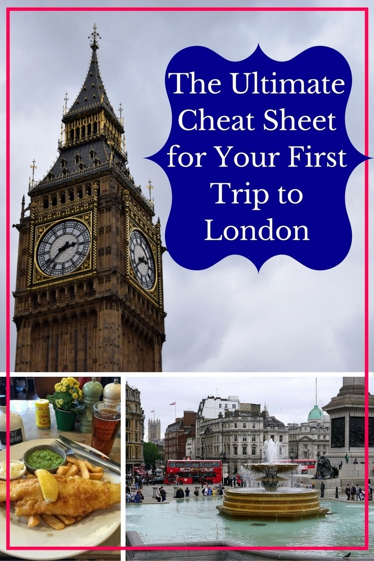 The Ultimate Cheat Sheet for Your First Trip to London - The