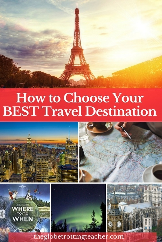 How to Choose Your Best Travel Destination