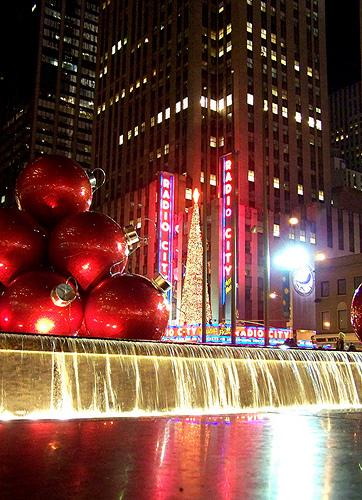 get festive with new york city christmas ornaments - New York Christmas Decorations
