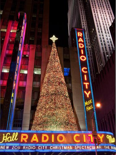 new york city radio city photo