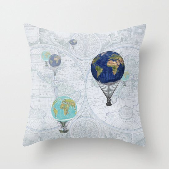 etsy-hot-air-balloon-globe-pillow-ArtfullyFeathered