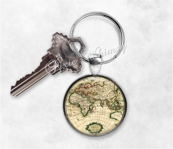 etsy-map-keychain-PixieWhimsy