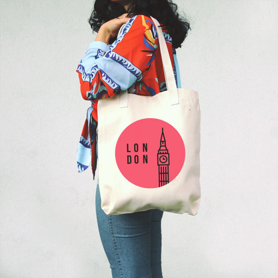 etsy London themed gifts for travelers