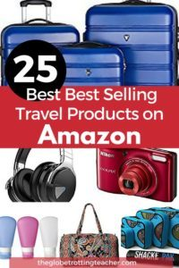 25 Best Selling Travel Products on Amazon