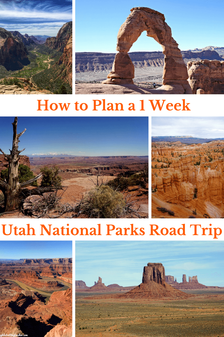 Utah National Parks Road Trip- Want to know how to plan a 1 Week Utah National Parks trip Itinerary? This guide is filled with tips and resources with everything you need for a successful Utah trip! #travel #utah #usatravel #nationalparks #archesnationalpark #canyonlandsnationalpark #brycecanyonnationalpark #zionnationalpark #adventuretravel #roadtrip #utahtrip #utahguide #Utahroadtrip #mightyfive