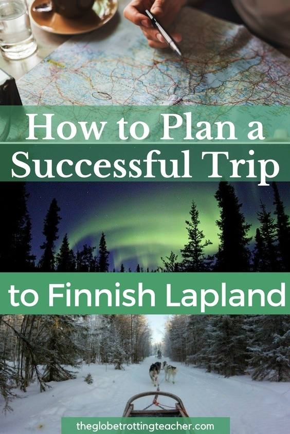 How to Plan a Successful Trip to Finnish Lapland | A complete itinerary to explore the gorgeous Lapland area of Finland including things to do, what to wear, where to stay, and how to travel around in Finland. #travel #finland #northernlights #winterwonderland #snow #reindeer #finnishlapland #europe #europetravel #europeantravels #bucketlisttravel #arctic #adventuretravel #triptofinnishlapland