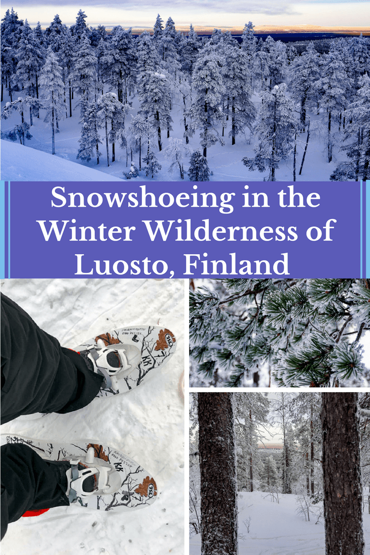 snowshoeing in Luosto, Finland and its wonderful winter wilderness