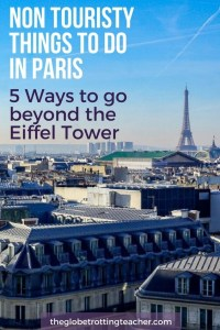 Non Touristy Things to do in Paris