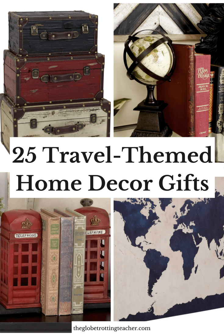 25 Travel-Themed Home Decor Gifts