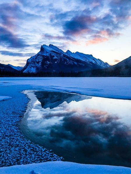 Banff National Park Sunrise
