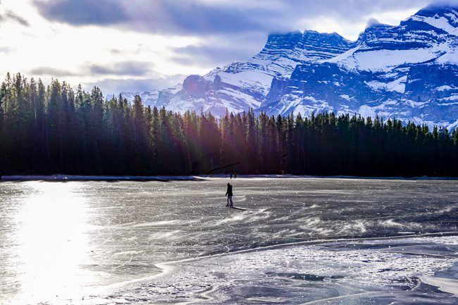 Things to do in Banff in Winter - Two Jack Lake