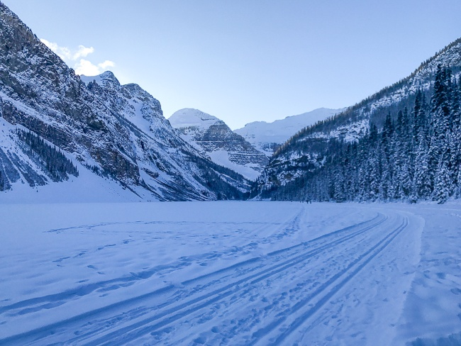 Banff Winter- Snowshoeing at Lake Louise