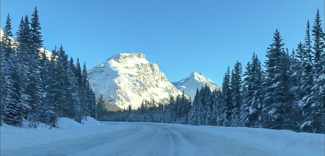 Banff Winter- Icefields Parkway