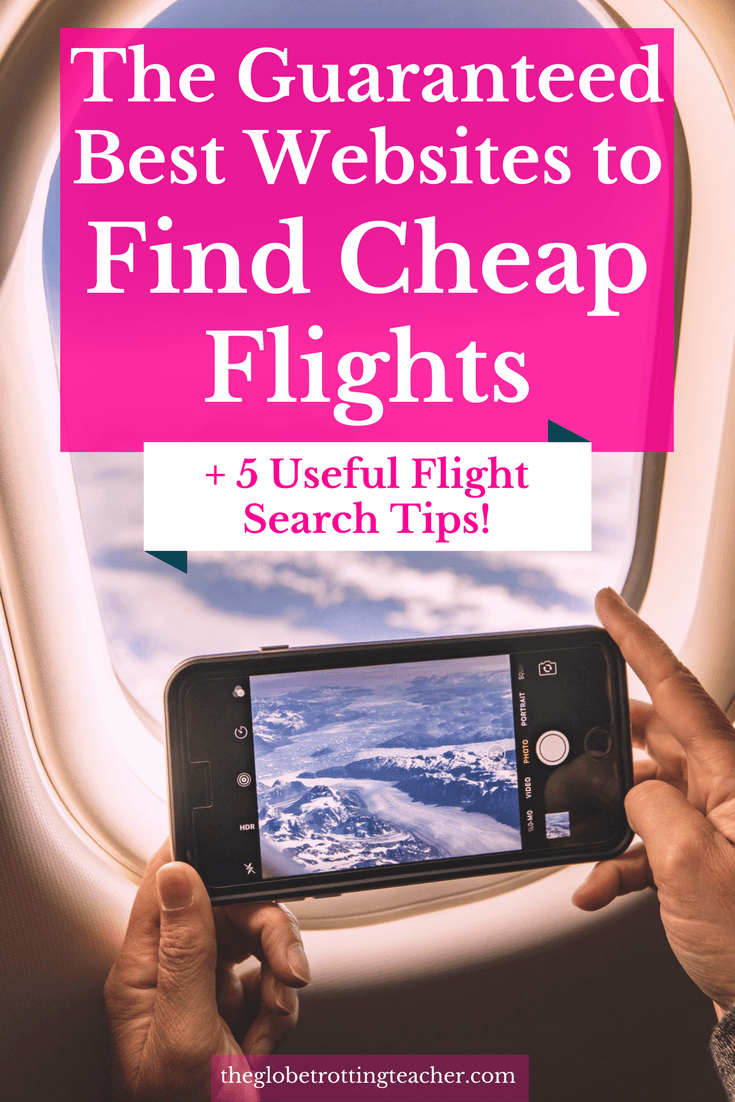 Best websites to find cheap flights 5 useful flight for Best site to buy