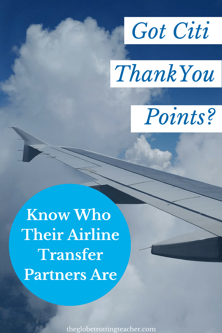 Citi Thank You Points Transfer Partners