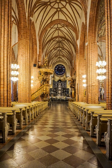 3 days in Stockholm cathedral