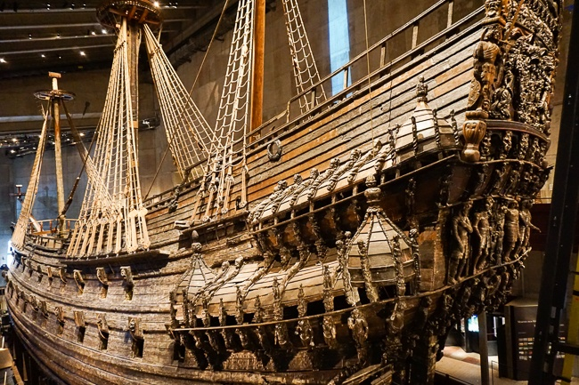 3 days in Stockholm Vasa Museum