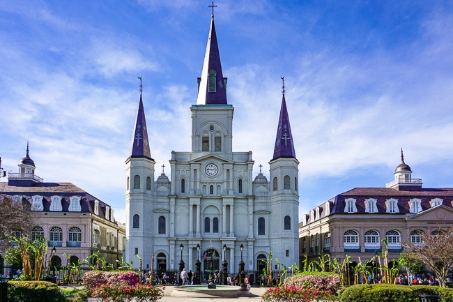 Celebrity homes in new orleans
