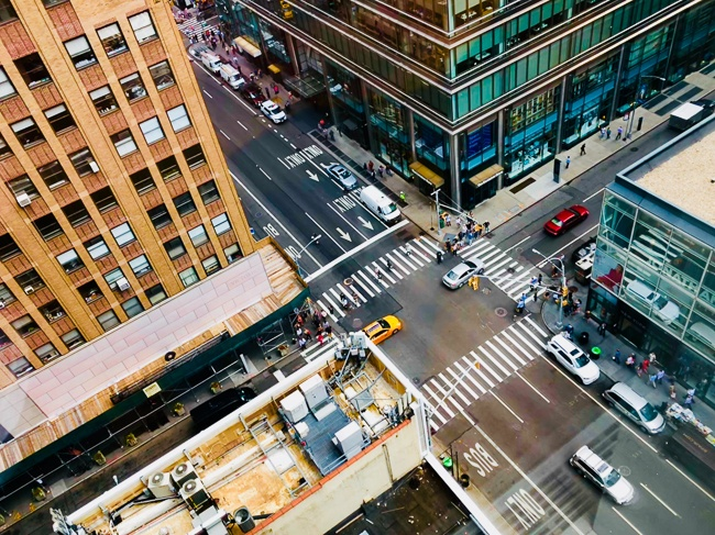 NYC Street Where to Stay in New York City