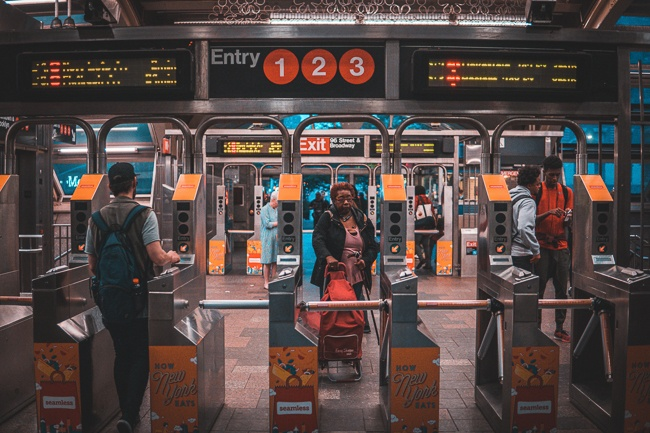 NYC Subway Where to Stay in New York City